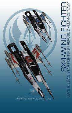 I guess I can't stop mashing up Mass Effect with my other favorite fandoms and there is no bigger fandom for me than Star Wars. I've also read where some say elements of Mass Effect wer...
