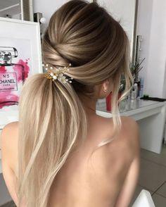 Wispy ponytail by Mila Evdokimova