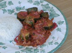 Courgette Curry. Photo by Tea Jenny