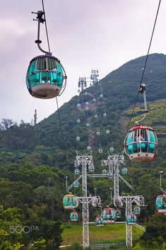 Ocean Park cable car, Hong Kong