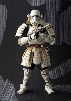 名将MOVIE REALIZATION 足軽ストームトルーパー 2015年5月30日発売 Photo 00 / [Great Samurai Commanders] MOVIE REALIZATION Ashigaru (Infantry) Storm Trooper May 30, 2015 released Photo 00 | TAMASHII Web / Mr. Takayuki Takeya to design arrangements, welcomed Mr. Junichi Taniguchi in prototype production, has been arranged in Japanese style, the storm trooper never seen anyone coming here!! (http://tamashii.jp/special/sw/lineup_mr.html) #HOBBY #STARWARS #MOVIE_REALIZATION  #BANDAI #TAMASHII_Web