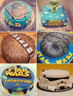 May The Force Be With Your Birthday Cakes Star Wars Party Cake
