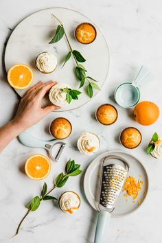 These easy Zesty Citrus Cupcakes get all their delicious, fruity flavour from the fresh orange zest in the recipe. This fills these bad boys with an amazing natural and aromatic zing! So delish! Citrus Recipes, Orange Recipes, Sweet Recipes, Easy Cupcake Recipes, Dessert Recipes, Desserts, Brunch Recipes, Easy Recipes, Baking Cupcakes