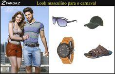 Pela manhã, as mulheres puderam conferir uma dica de look para curtir o carnaval, certo?    Agora para vocês, homens, que tal uma sugestão de look da Fargaz Jeans para você aproveitar a folia com estilo?