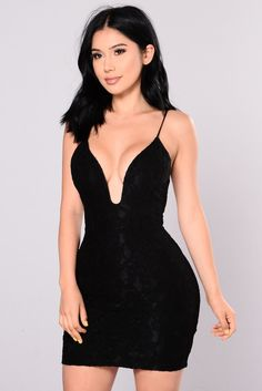 Party Ready Dress - Black