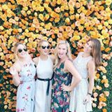 @laurenconrad and her friends had a blast horsing around at the 2016 @veuveclicquot polo classic this year… pun intended! 🏇🍾 and they looked gorgeous too. head to the blog to get all the details about @laurenconrad's @papercrown ensemble and find out where you can shop these looks. #regram @leslieannebruce http://liketk.it/2ps0p @liketoknow.it #liketkit