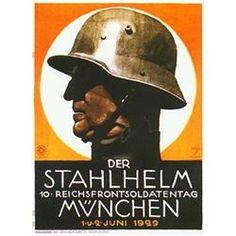 Rare Ludwig Hohlwein Poster Der Stahlhelm 1929