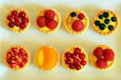 Fruit Tarts Fruit Tarts, Yummy Cakes, Cake Pops, Muffins, Cheesecake, Pudding, Cupcakes, Baking, Desserts