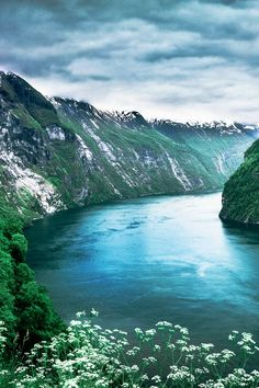 The famous Geiranger Fjord in the summer! Whether you travel to Norway in the summer or winter you are sure to have the trip of your life! Enjoy 20 incredible photos of Norway you can add to your bucket list! Fjords | Alesund | Flam | | Bergen | Nature | Waterfalls | Things to do in Norway