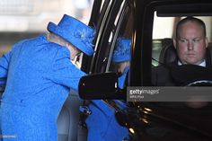 Queen Elizabeth II leaves the State Opening of Parliament in the House of Lords at the Palace of Westminster on June 21, 2017 in London, United Kingdom. This year saw a scaled-back State opening of Parliament Ceremony with the Queen arriving by car rather than carriage and not wearing the Imperial State Crown or the Robes of State.