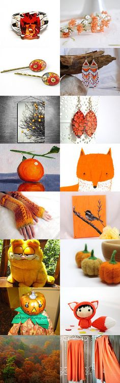 Orange is the New Black by Diane Waters on Etsy--Pinned with TreasuryPin.com