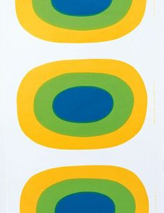 Melooni yellow interior fabric by Marimekko Textiles, Textile Patterns, Textile Prints, Textile Design, Print Patterns, Scarf Patterns, Kandinsky, Marimekko Fabric, Graphic Design Pattern