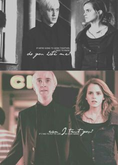 alexbenedetto: Dramione AU: Hermione and Draco must work together to end the war.
