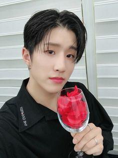 Lets drink rose petals Cha Eun Woo, K Pop, Jinjin Astro, Park Jin Woo, Cute Funny Pics, Ahn Hyo Seop, Astro Fandom Name, Sanha, Bts Boys