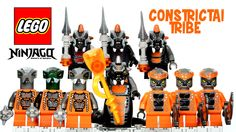 LEGO® Ninjago Rise of the Snakes Serpentine Constrictai Tribe Minifigures