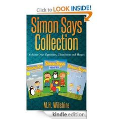 The Simon Says Collection features 3 inspiring stories to encourage your child to grow and learn in different aspects in life.