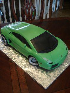 Lamborghini Cake Groom S This Took Me A cakepins.com Birthday Cake Girls, Car Birthday, Birthday Cakes, Lamborghini Cake, Girl Cakes, Free Wedding, Celebration Cakes, Luxury Cars, Super Cars