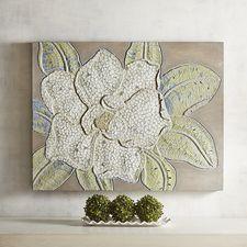Mosaic Magnolia Wall Panel