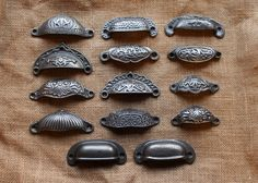Our Range of Antique Style Victorian Drawer Pulls from only