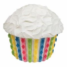 Giant cupcake recipes from Wilton