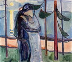 Edvard Munch (1863-1944) Kiss on the Beach