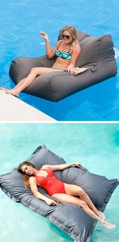 #12. SoFloat (the comfiest way to lounge in the pool) -- 17 Awesome Products That Will Make This Your Best Summer Ever