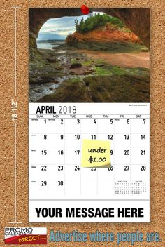 2021 Atlantic Canada Wall Calendars with your Business Name & Logo - low as Advertise in the homes and offices of people in your area all year! Marketing Approach, Atlantic Canada, Viral Marketing, Business Organization, Promote Your Business, Calendar, Advertising, Country Roads, Strong