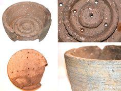 Roman cheese press, found in Stilton. montimg.jpg (660×500)