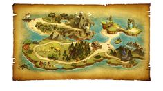 ArtStation - Side-Scrolling_map01, H J W