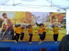 Kids dancing at hip hop dance competition, Singapore Nov 2006