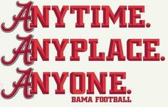 Anytime, Anyplace, Anyone RTR