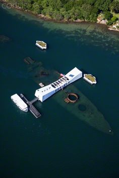size: Photographic Print: USS Arizona Memorial, Pearl Harbor, Oahu, Hawaii by Douglas Peebles : Entertainment Uss Arizona Memorial, Mahalo Hawaii, Oahu Hawaii, Hawaii Vacation, Hawaii Travel, Vacation Places, Pearl Harbor Memorial, Remember Pearl Harbor, Lake Pictures