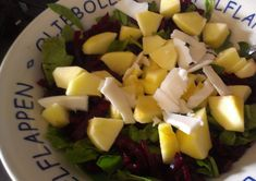 Bietensalade - Slank met Linda Paleo, Keto, Fruit Salad, Soup, Healthy Recipes, Fruit Salads, Beach Wrap, Healthy Eating Recipes, Soups