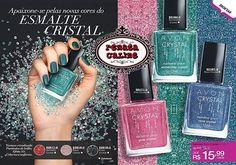 Avon - Apaixone-se pelas novas cores do esmalte Crystal.