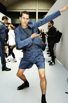 DIOR SS14 Men Fashion Show Paris Backstage