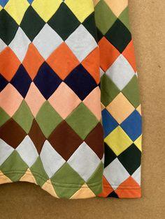 Knit Check Quarter Zip – BODE New York