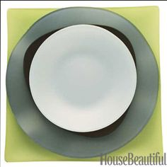 Recycled dinnerware - chic and eco-friendly