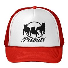 PITBULL CAP TRUCKER HAT. •Available in 11 color combinations