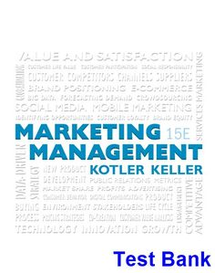 Marketing core 6th edition books pinterest business marketing marketing management 15th edition kotler test bank test bank solutions manual exam bank fandeluxe Image collections