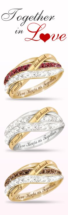 Let your love sparkle brightly with our fine selection of romantic jewelry. Which ring do you like best?