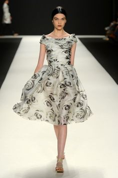 Naeem Khan, Spring 2013. If I could marry this dress, I would. That's how much I love it.