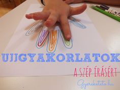 Az írásképet nem az változtatja meg, ha még 100X leírja...fejlesszük hatékonyan… Summer Activities, Learning Activities, Projects For Kids, Crafts For Kids, Preschool Bible, Help Teaching, Tot School, Fine Motor Skills, Coloring Pages For Kids