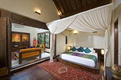 Villa Kubu (villa 9) - living room and bedroom