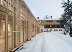 Florian Nagler -Hotel Tannerhof renovation and addition, Bayrischzell 2011.