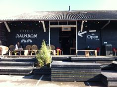 Double rainbow, Cafe  venue - Aarhus, Denmark