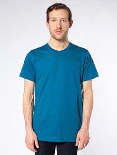 Organic Fine Jersey Short Sleeve T-Shirt by American Apparel