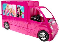 Barbie Sisters Life in the Dreamhouse Camper - $99.99 - Everything Barbie needs for first-class glamping! Ages 3+  #HotToys #holidays  #gifts