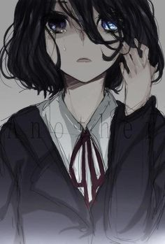 anime Another Misaki Mei Anime Oc, Dark Anime, Manga Anime, Art Manga, Anime Neko, Manga Girl, Anime Art Girl, Anime Girls, Anime Style