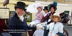 To go to the Jane Austen Festival in Bath, England...