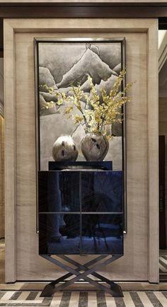 powder room foyer